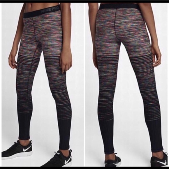 4c42fb1159066e Nike Pants | Pro Hyperwarm Womens Training Tights 856228 | Poshmark